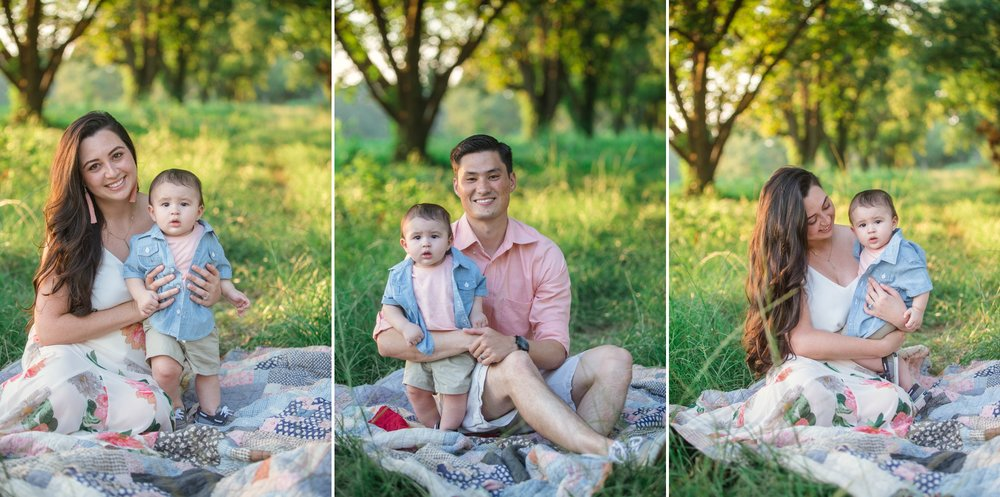 Outdoor Family Photography Session in Fayetteville, North Carolina - Raeford NC Photographer