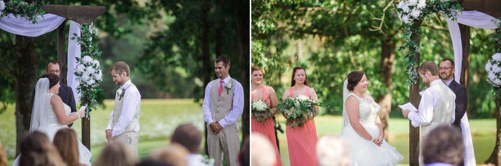 Wedding at Gregory Vineyards in Angier, NC - Raleigh North Carolina Wedding Photographer