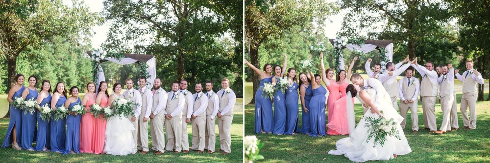 Wedding at Gregory Vineyards in Angier, NC - Raleigh North Carolina Wedding Photographer