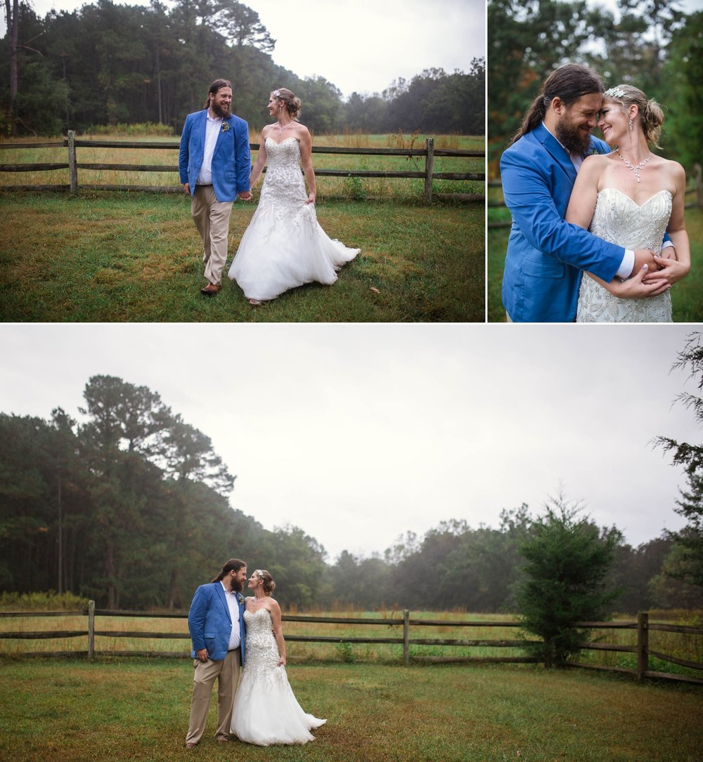 Erik + Meghan - Wedding at the Timerlake Earth Sanctuary in Whitsett North Carolina - Raleigh Wedding Photographer