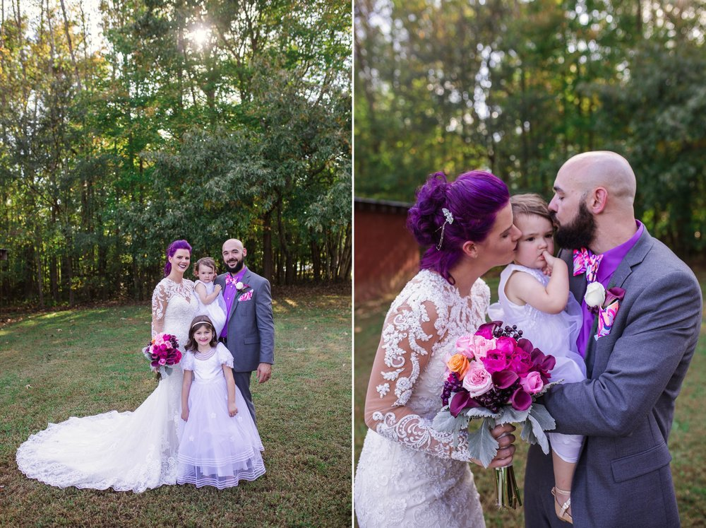 Family Formals - Brittany + Jonathan - Raleigh North Carolina Wedding Photographer