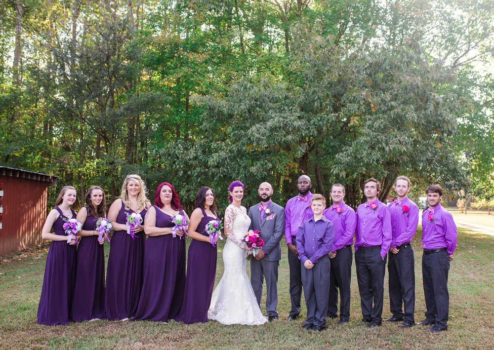 Wedding Party - Brittany + Jonathan - Raleigh North Carolina Wedding Photographer