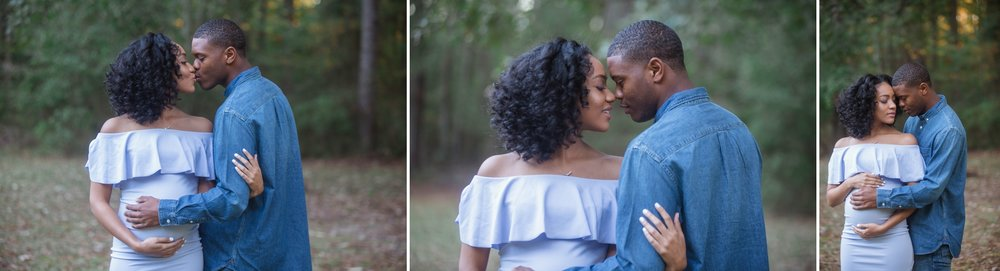 Maternity Photography Session at Clark Park in Fayetteville North Carolina