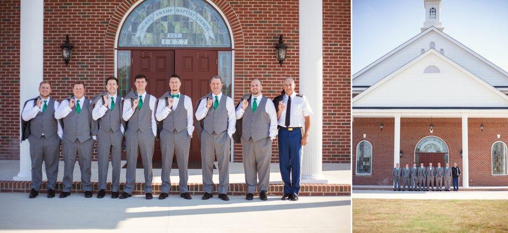 Morgan + Jordan - Wedding Photography at Burnt Swamp Baptist Church and Southeastern Agricultural Center in Lumberton North Carolina