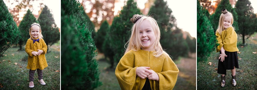 The Seaton's - Fayetteville North Carolina Family Photographer at the Christmas Tree Farm
