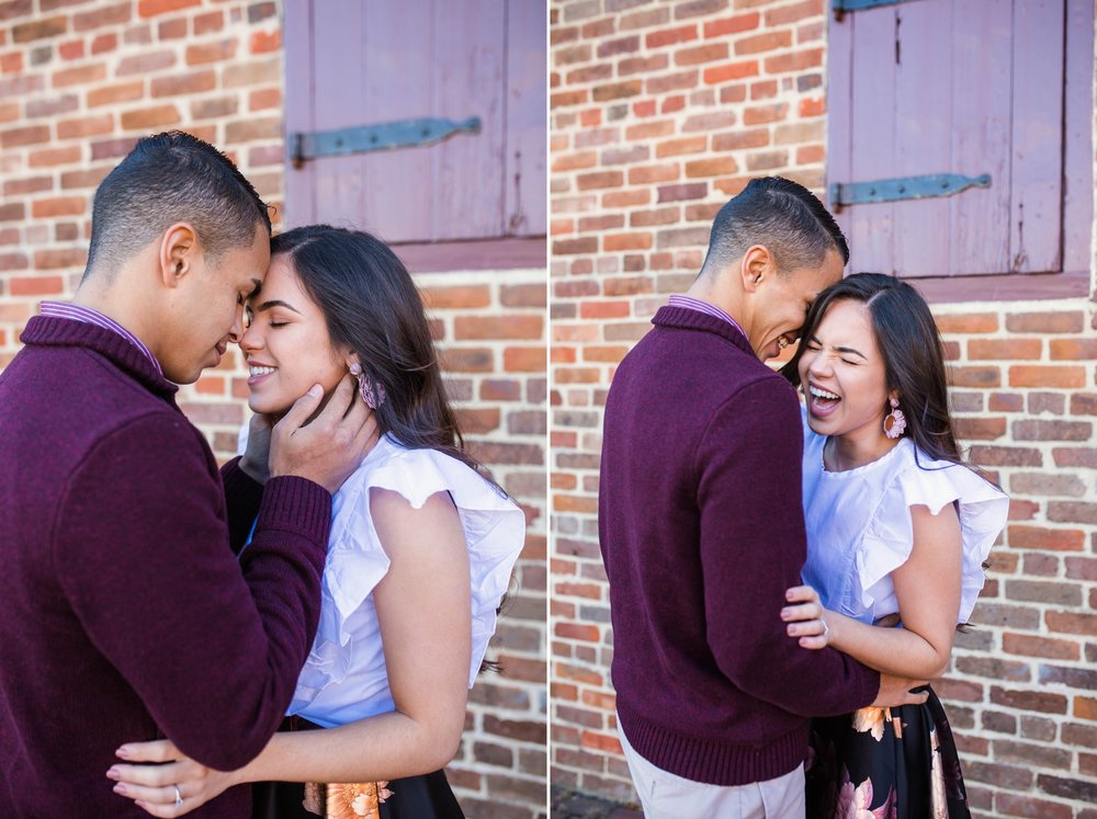 Engagement Photography in Downtown - Fayetteville North Carolina Photographer