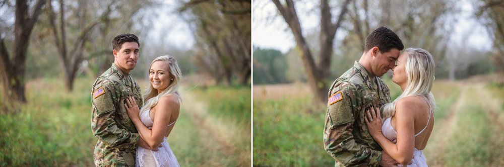 Engagement Photography Session in a cornfield in fayetteville north Carolina - Johanna DYe Photographer 7.jpg
