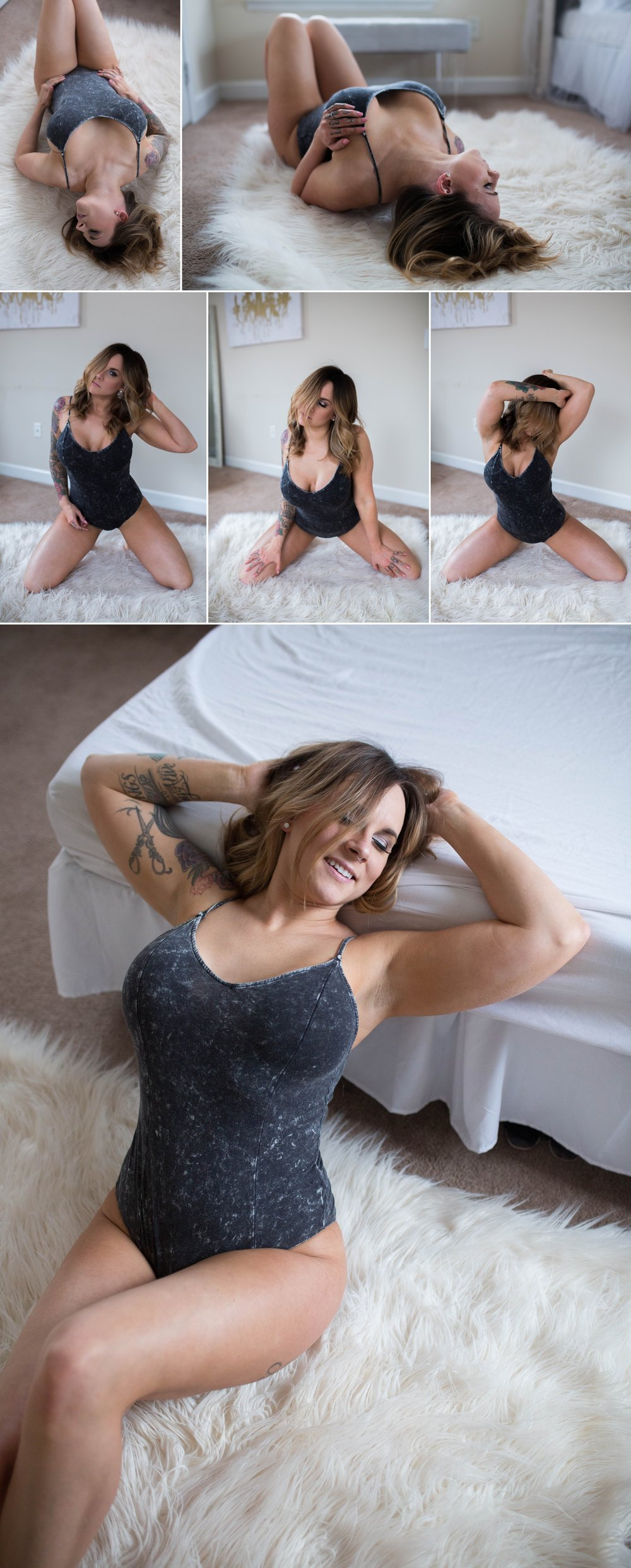 Inked Tattoo model - Fayetteville North Carolina Boudoir Photography