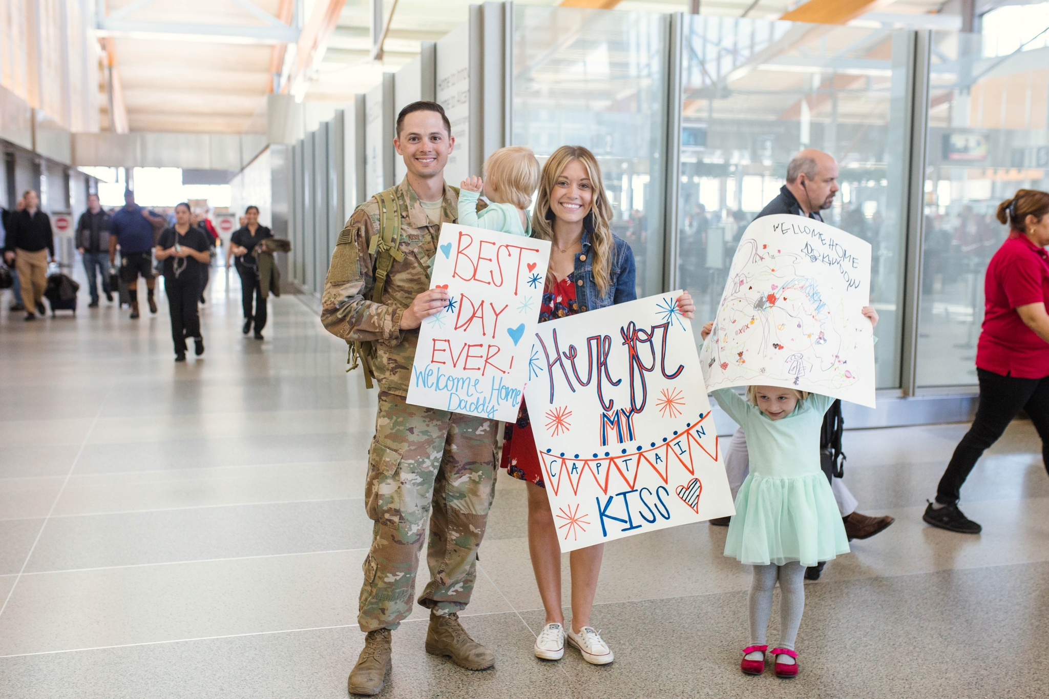 17393744bd4 Military Homecoming Photography at Raleigh Durham International Airport RDU  - Fort Bragg NC Photographer