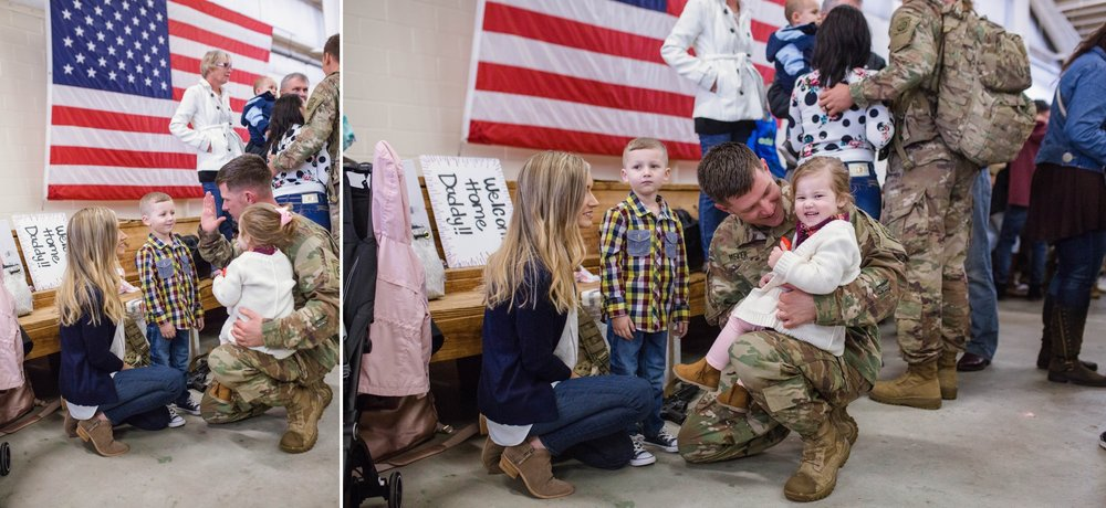 Fort Bragg North Carolina Military Army Homecoming Photographer