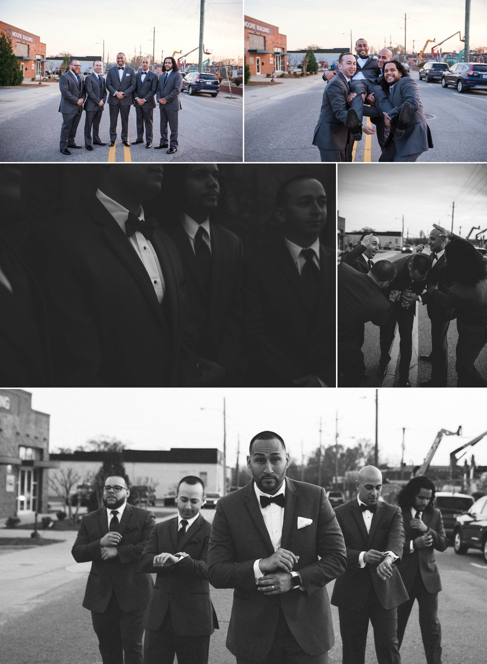 Wedding at Studio 215 in Fayetteville North Carolina - Photographers in Raleigh
