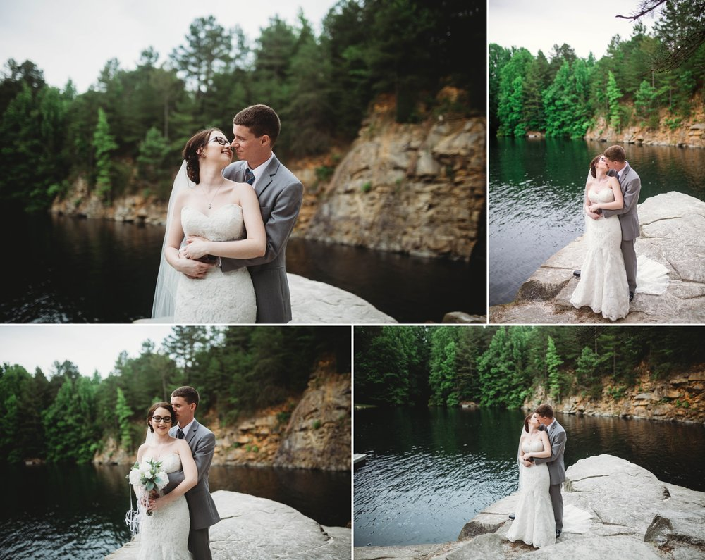 Kayla + Tim - The Quarry at Carrigan Farms in Mooresville, NC - Charlotte North Carolina Wedding Photographer