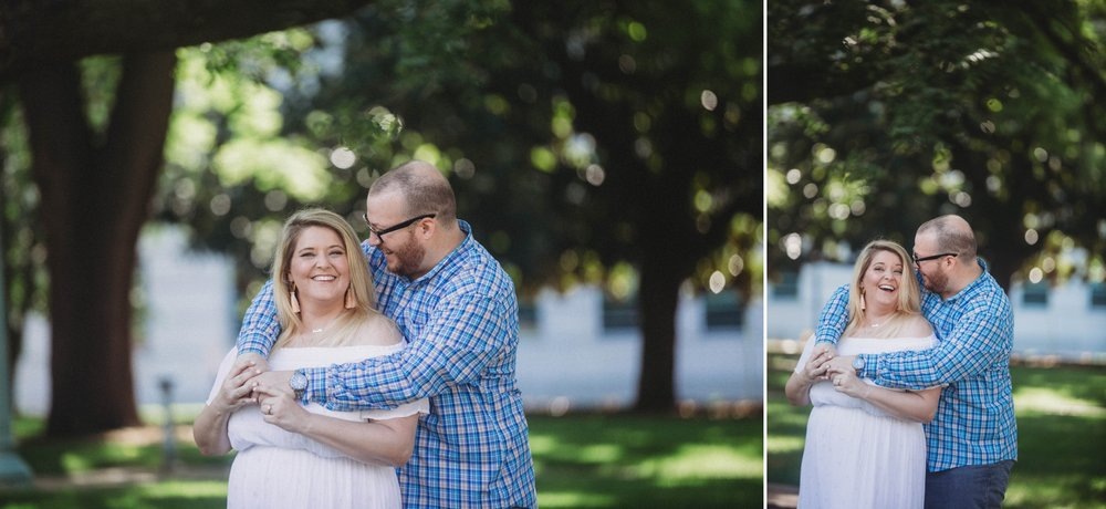 Brittany + Douglas - Downtown Raleigh North Carolina Engagement Photography Session