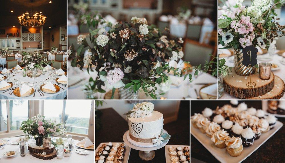 Reception Details - Beech Mountain Club Wedding - Asheville North Carolina Photographer