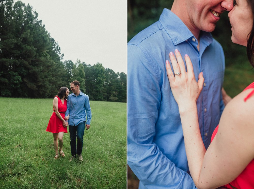 Sarah + Kyle - Engagement Photography Session in Fayetteville, North carolina 6.jpg