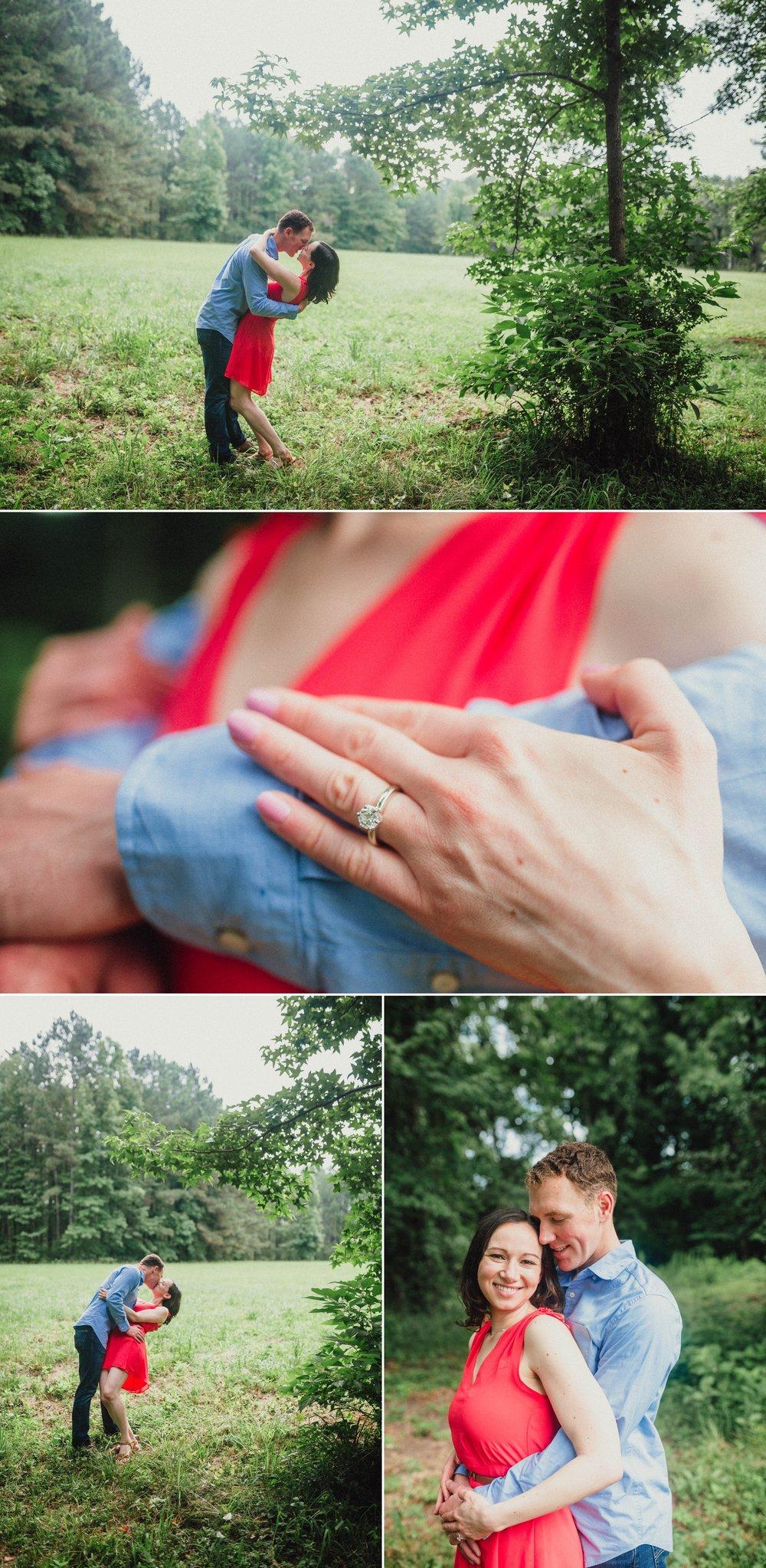 Sarah + Kyle - Fayetteville North Carolina Engagement Photographer
