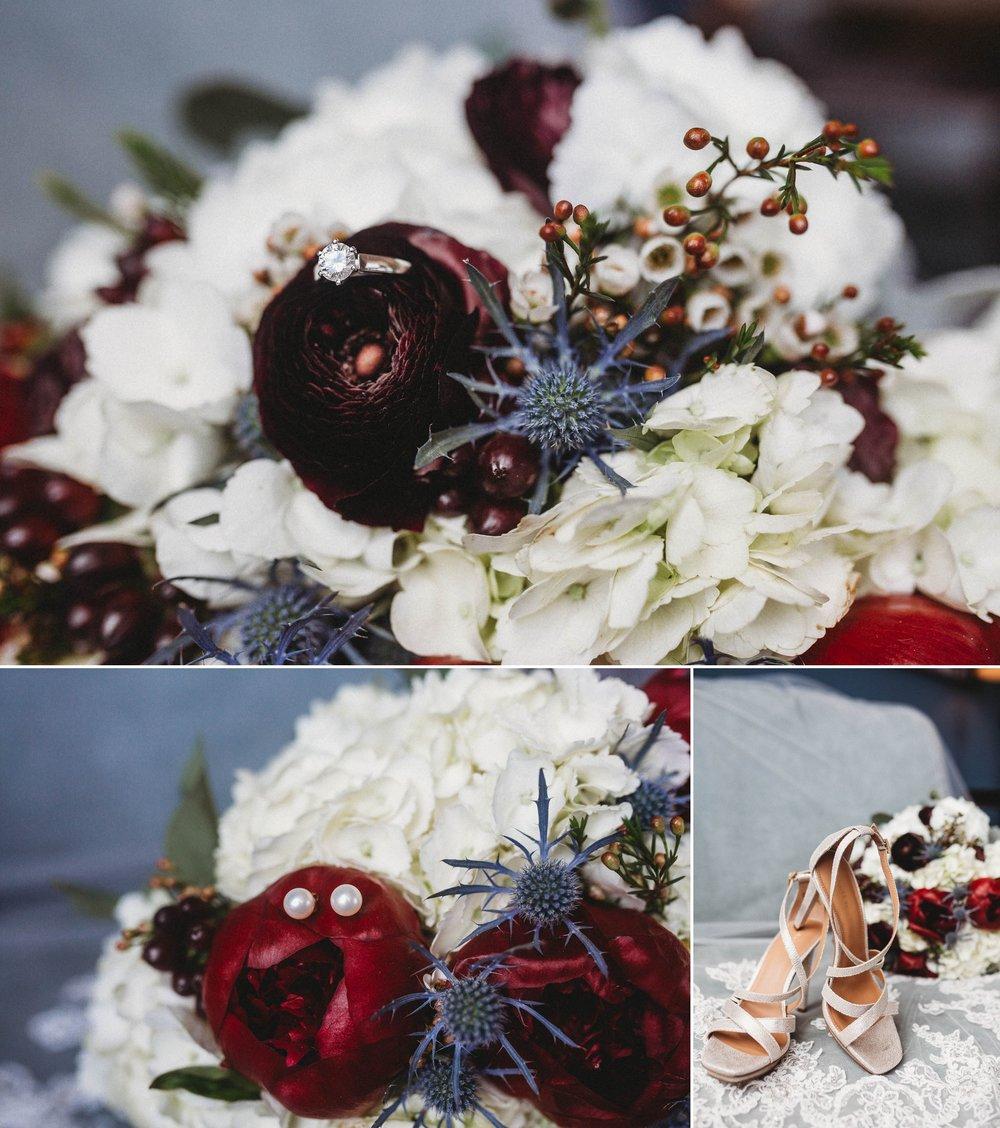 Bridal Details - Megan + Jon - Run away Elopement at the Blue Ridge Park Way in Asheville, North Carolina