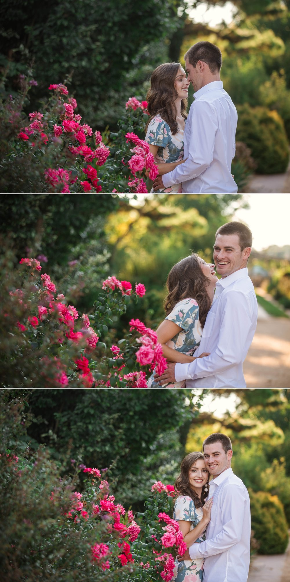 Paige + Tyler - Engagement Photography Session at the JC Raulston Arboretum - Raleigh Wedding Photographer 1.jpg