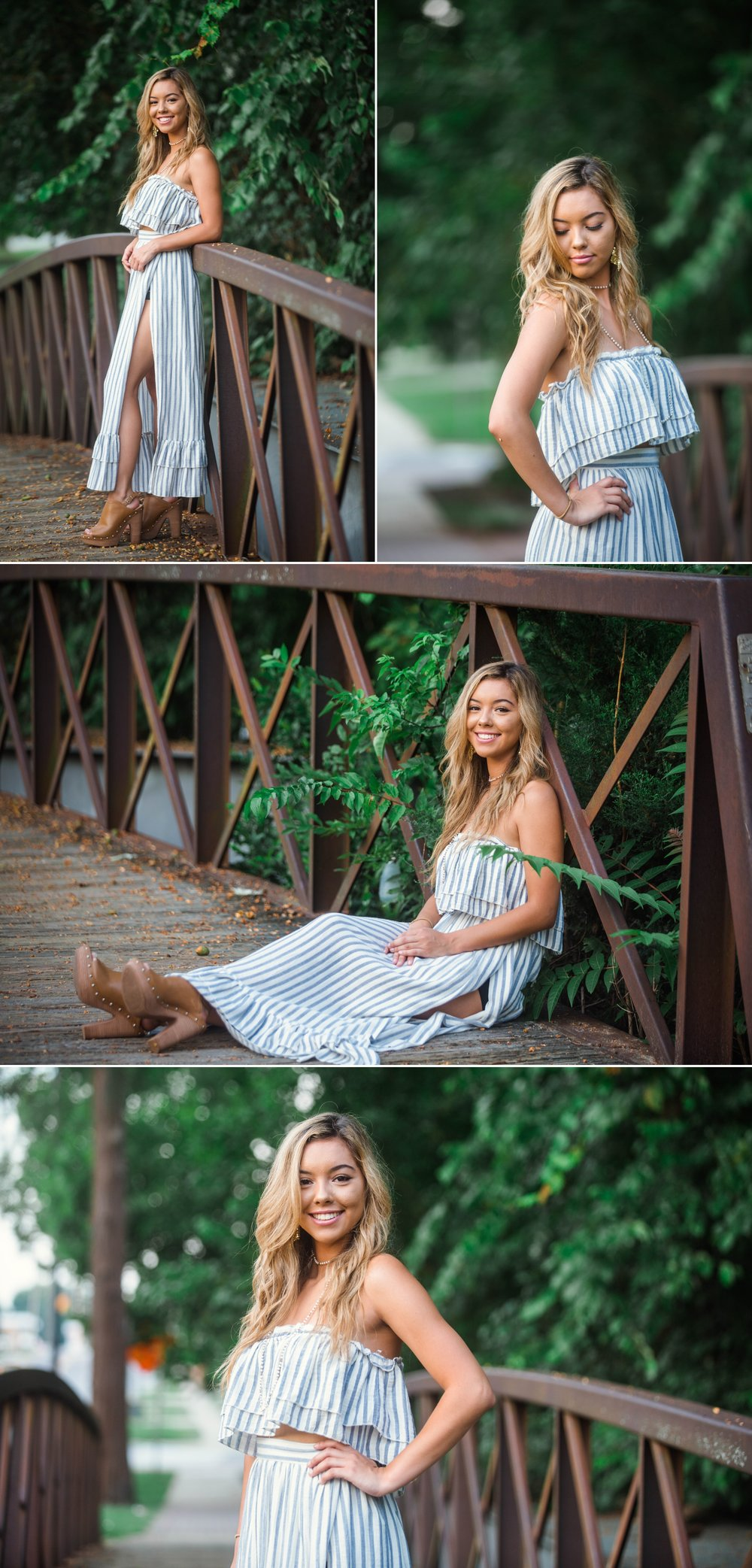 Kaylee - Downtown Urban Senior Photography Session - Fayetteville North Carolina Photographer