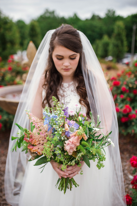 Spring Bridal Bouquet Inspiration - Raleigh Wedding Photographer