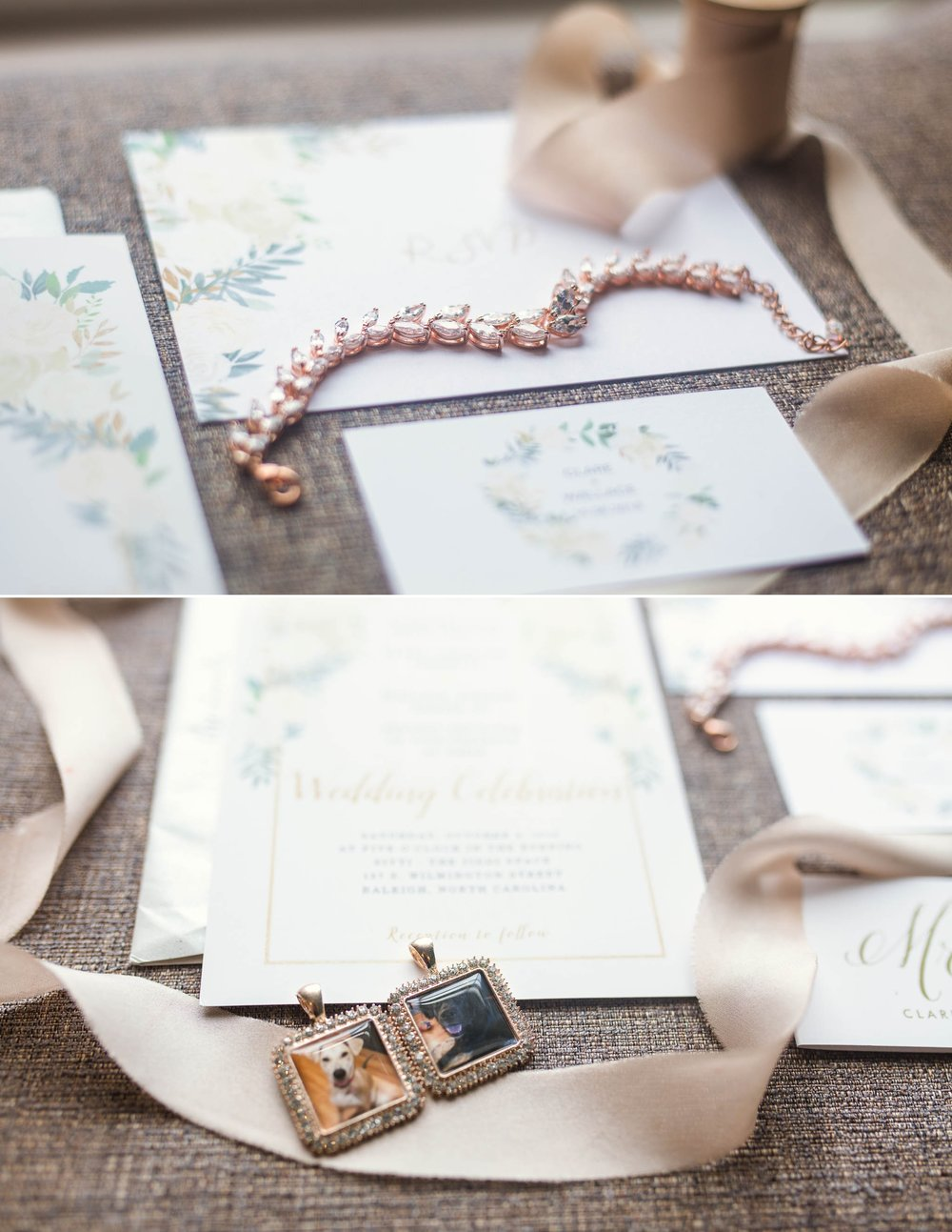 Bridal Details - Clare + Wallace - The Jiddy Space - Raleigh North Carolina Wedding Photographer