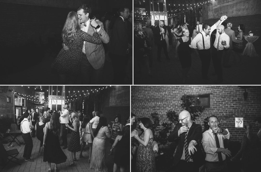 Reception - Clare + Wallace - The Jiddy Space - Raleigh North Carolina Wedding Photographer