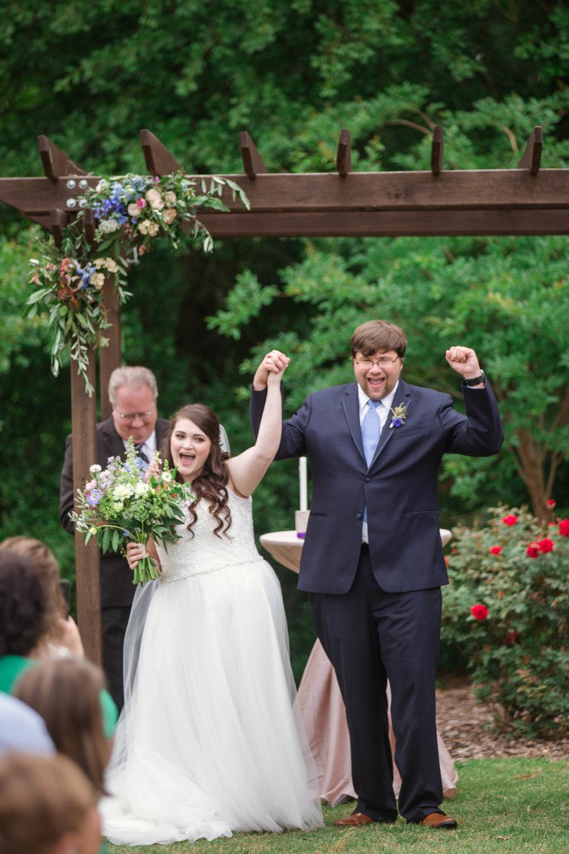 Natalie + Zach    French country garden wedding