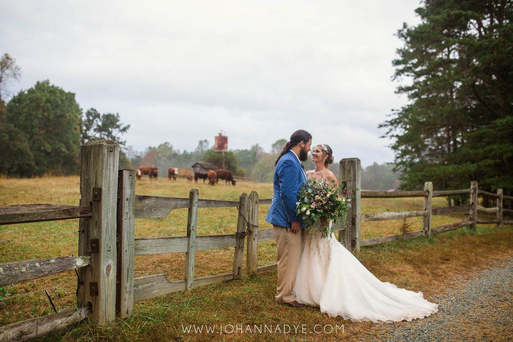 Meghan + Erik    Boho Wedding in the woods