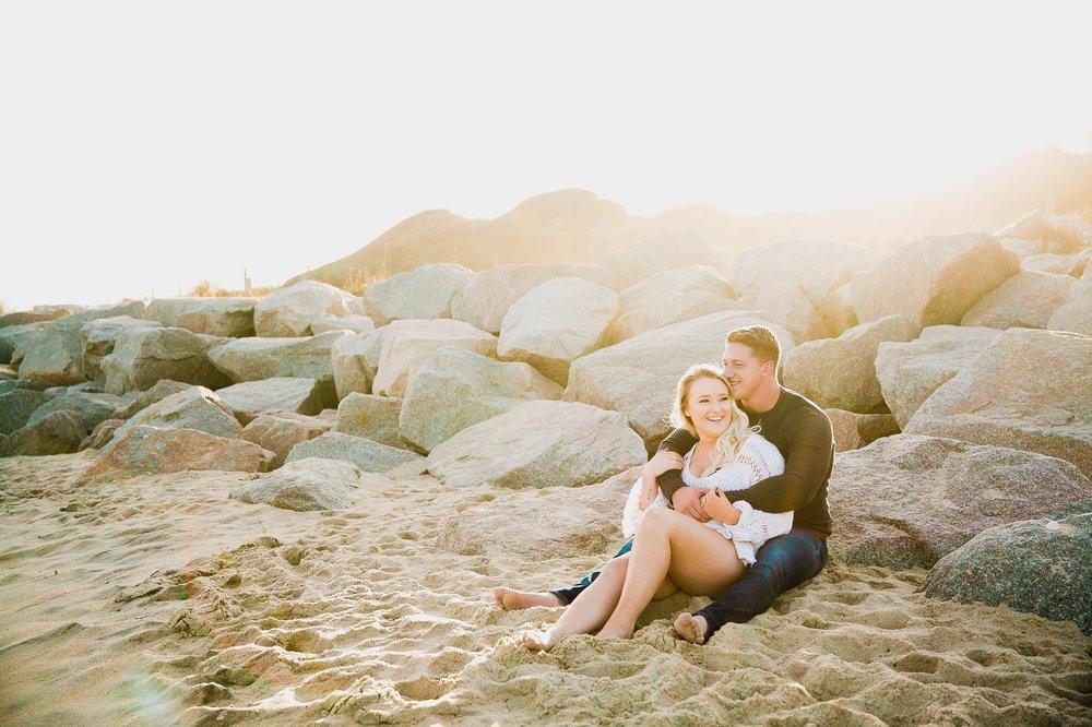 Jessica + Austin - Beach Engagement Photography Session - Honolulu Oahu Hawaii Wedding Photographer 8.jpg