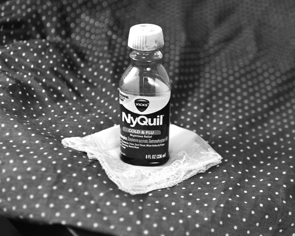 Nyquil, $8.34