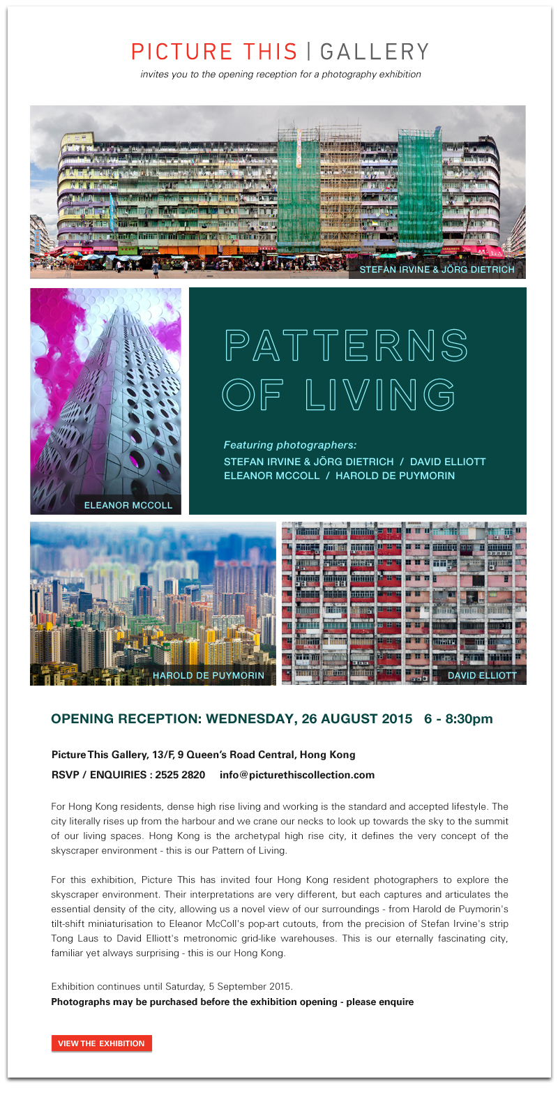 Patterns of Living - Picture This Gallery Hong Kong