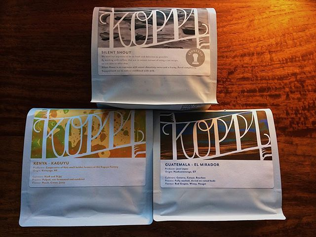 Happy 10th birthday @koppi_roasters ! In celebration we are serving @koppianne and @charliegeo filter coffee from Helsingborg, Sweden this weekend.