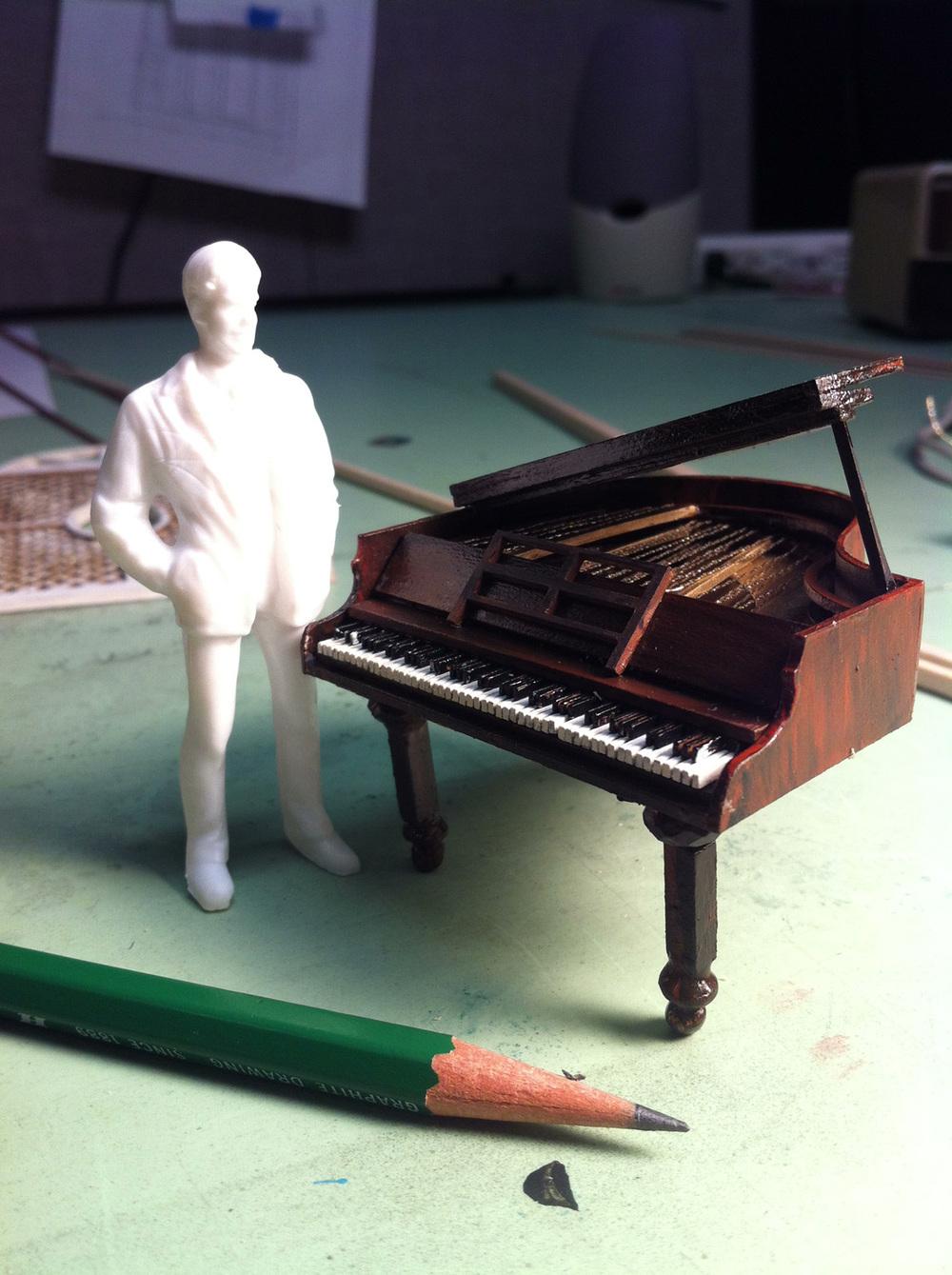 Piano for <i>Blythe Spirit</i>