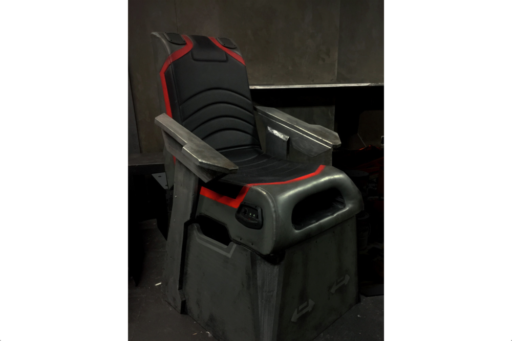Gravity Restraint Chair
