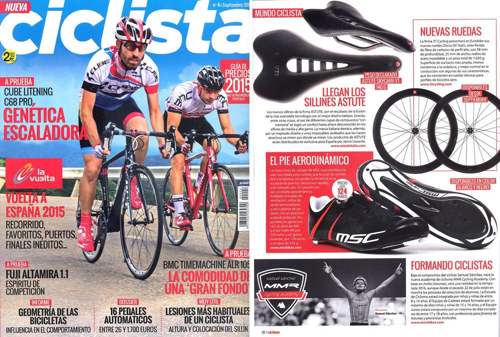 Ciclista September 2015 - Lightweight Pro Shoe