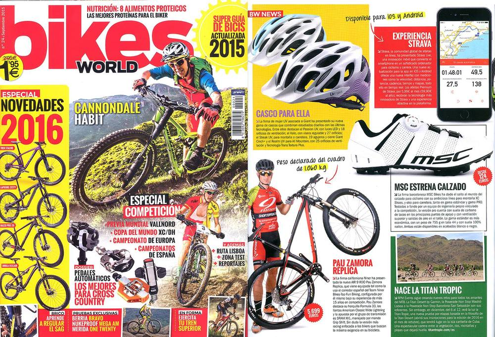 Bikesworld Septmber 2015 -MTB Pro Carbon