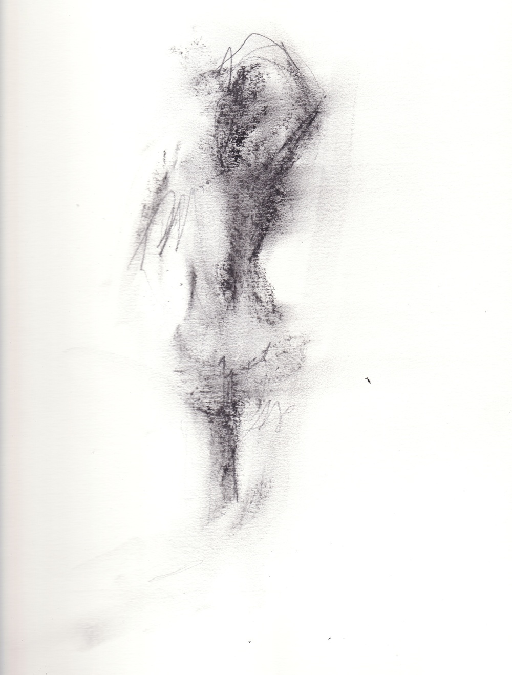 life drawing / charcoal / winter 2008