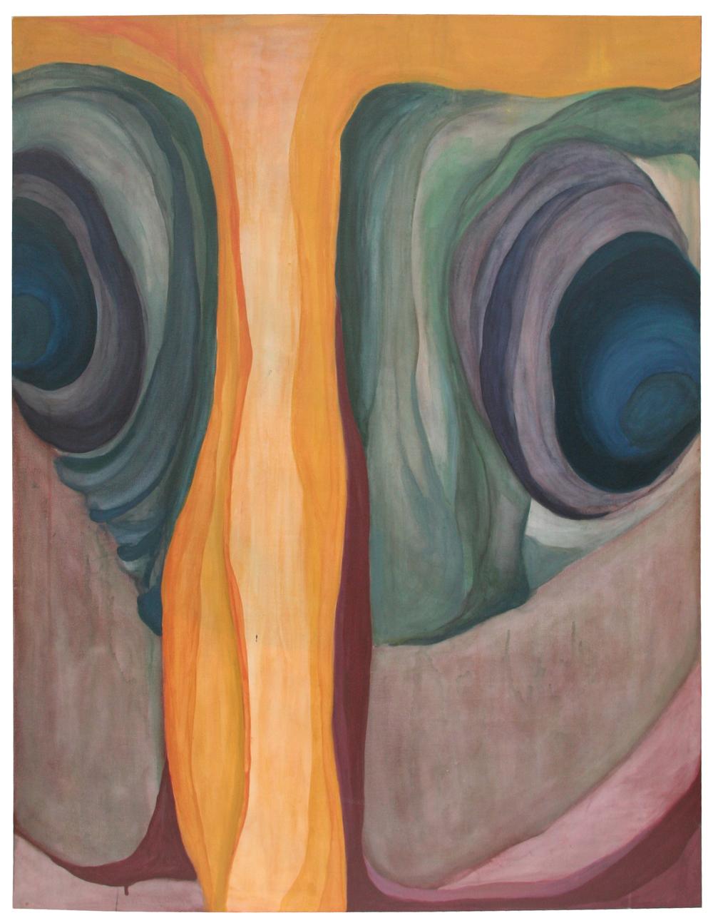 acrylic on canvas / fall 2008