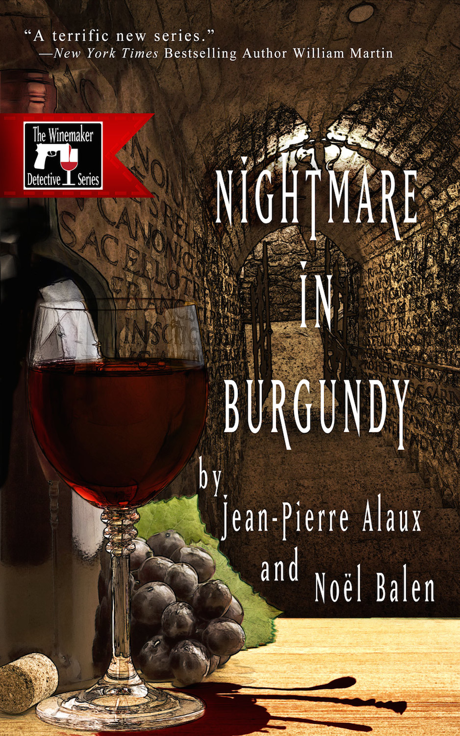 Nightmare in Burgundy cover