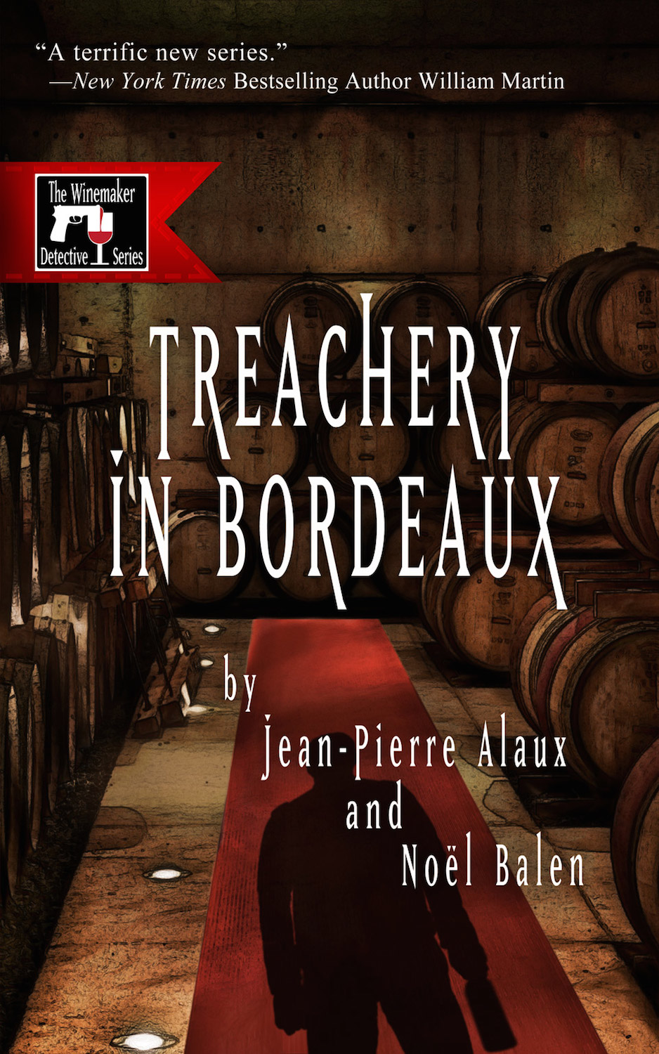 Treachery in Bordeaux cover