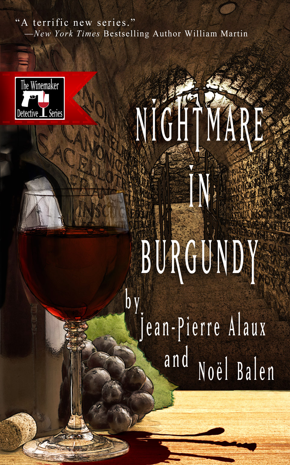 Fun mystery set in Burgundy, French wine country