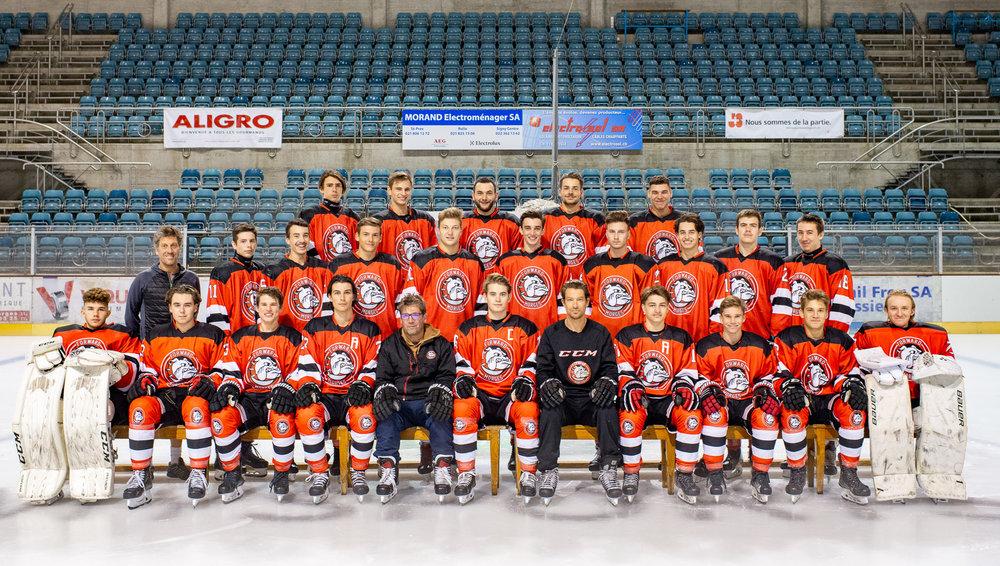 Forward Morges Hockey Club - Réalisation des photos d'équipes et des portraits de joueurs pour la saison 2018-2019