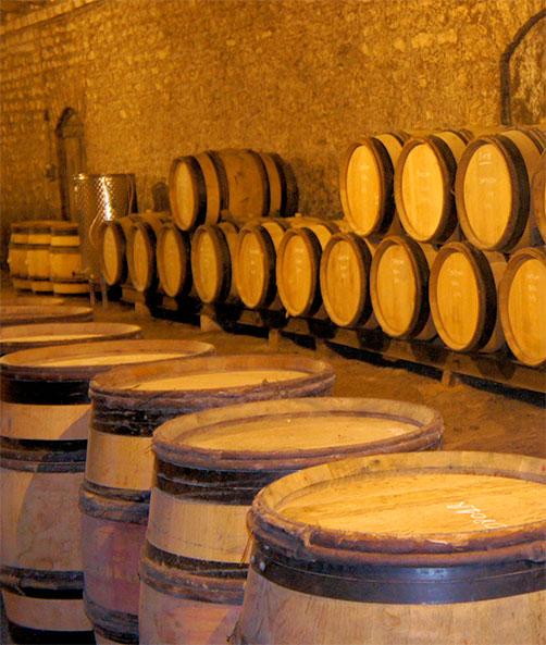 Fûts vin de bourgogne Héritiers Saint-Genys
