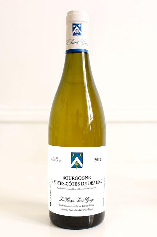 Bourgogne Hautes-Côtes de Beaune 2012