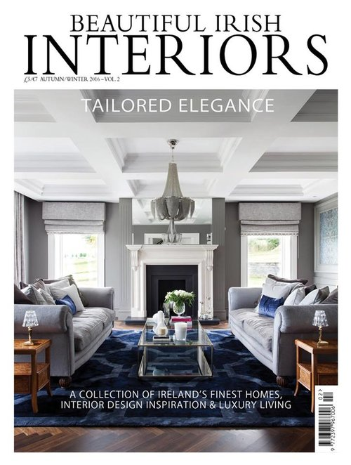 Delighted to feature in the gorgeous autumn winter edition of beautiful irish interiors its on sale now