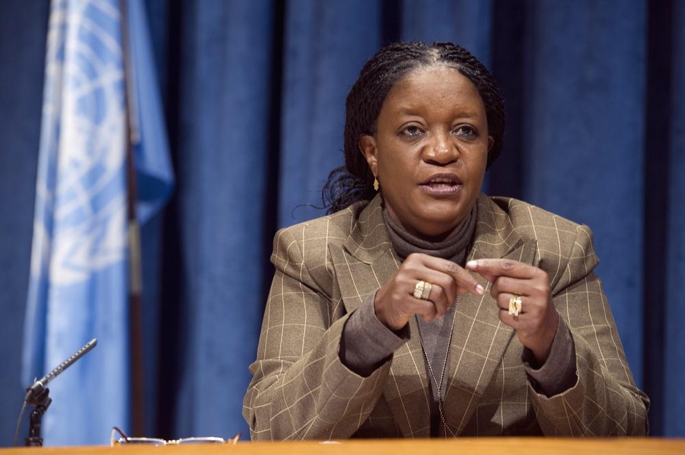 UN Special Representative, Zainab Bangura