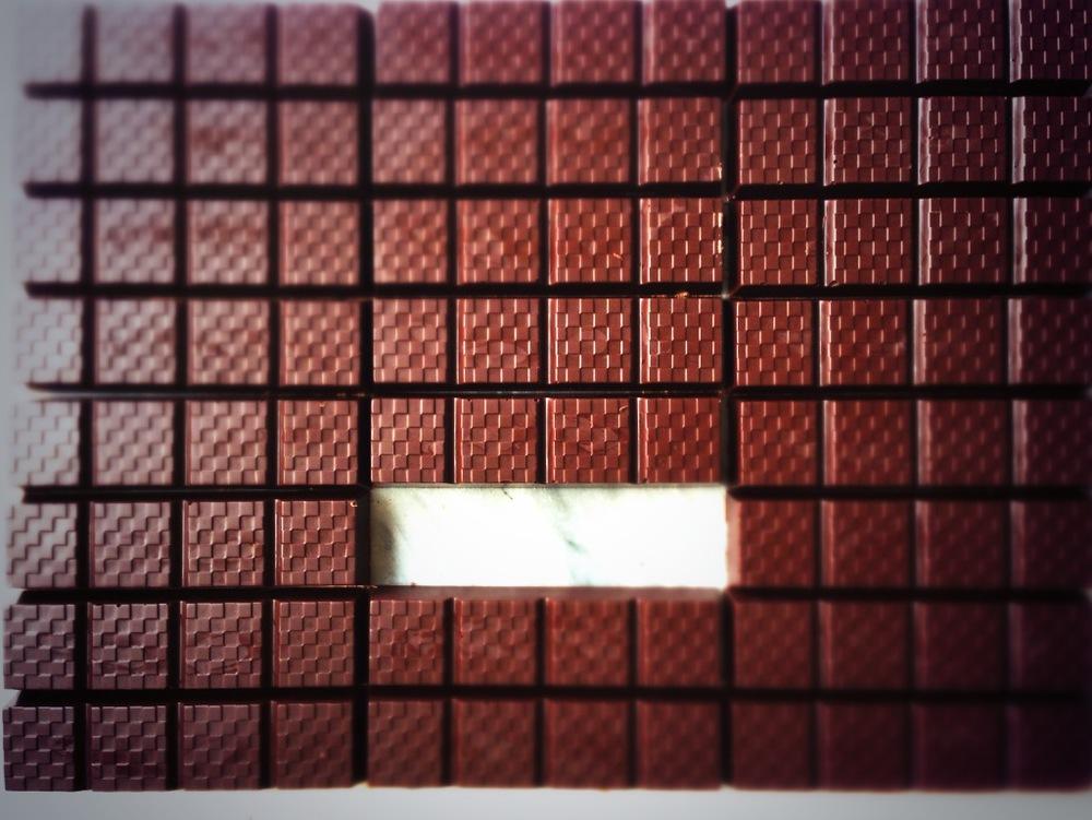Raw Chocolate Wall