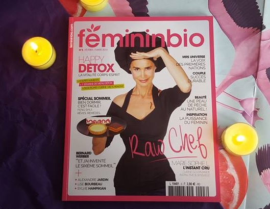 Raw Chocolate Review in FemininBIO