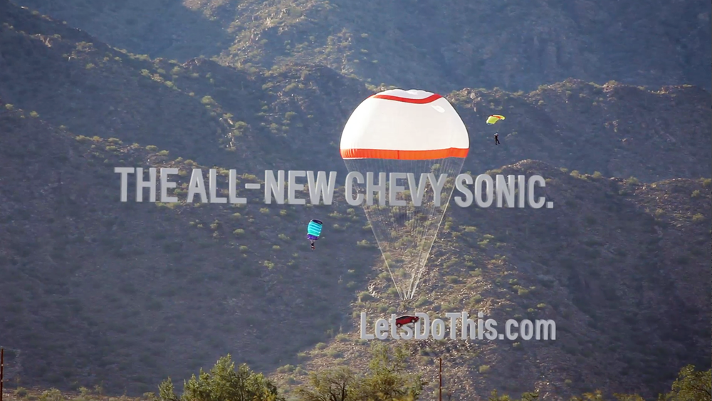 Launching the Chevy Sonic. A Car for Firsts