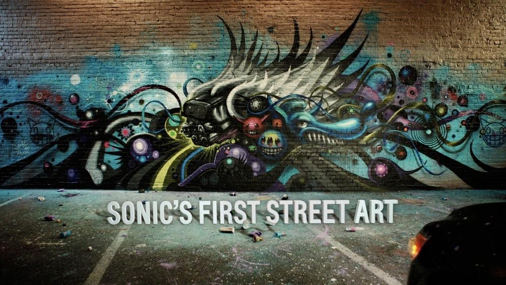Chevy Sonic's First Street Art